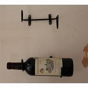 Porte Bouteille Mural : porte bouteille de vin mural lot de 3 saveur vin ~ Melissatoandfro.com Idées de Décoration
