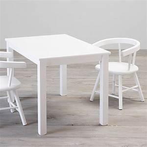 Kindertisch Mit Stühlen Weiß : kindertisch spieltisch anna massivholz wei 50x75cm ~ Michelbontemps.com Haus und Dekorationen