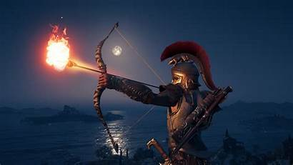 Creed Assassin 4k Odyssey Arrow Wallpapers Bow