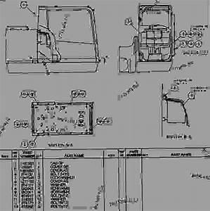 1481562 Cab Group - Excavator Caterpillar 350 L