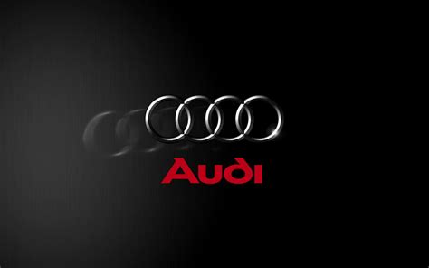 audi logo black and white audi logo wallpaper 40267 1920x1200px