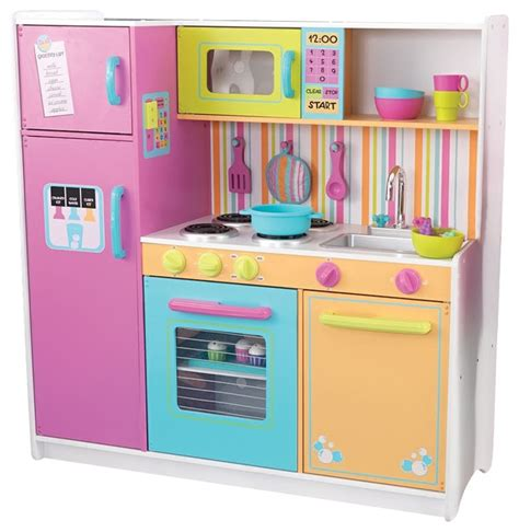 Barbie Living Room Playset by Kidkraft Deluxe Big And Bright Kids Fun Cooking Wooden