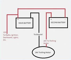Wiring A 24 Volt Minn Kota Trolling Motor