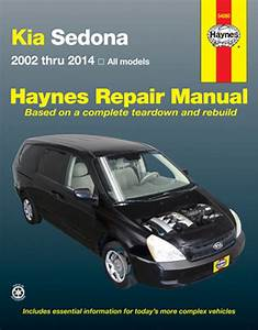 Kia Sedona Haynes Repair Manual  2002-2014