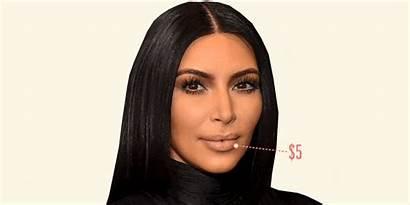 Kim Kardashian Makeup Beauty Hair Drugstore Lashes
