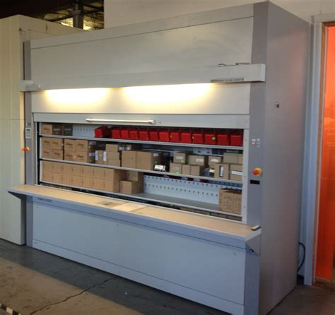 Vertical Carousel Shelving Solves Product Inventory Issues