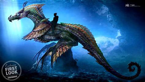 aquaman  feature  massive sea dragon