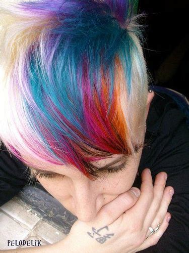 30 Rainbow Colored Hairstyles To Try Pretty Designs