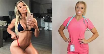 Nurse Instagram Curvy Lauren Maxim Meet Drain