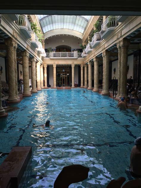 Gellért Thermal Bath Budapest Hungary The Old Bath