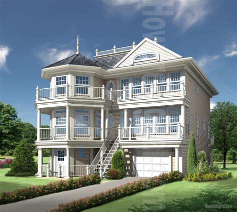beautiful storeys in a building house rendering howard digital
