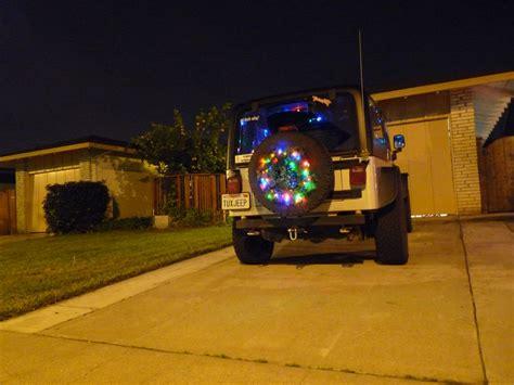jeep christmas wreath christmas jeeps jkowners com jeep wrangler jk forum