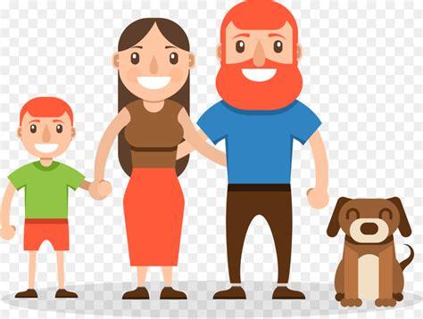 foto kartun keluarga bahagia