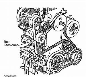 Serpentine Belt Diagram 2000 Chevrolet Venture