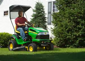 Garden Tractor Attachments Accessories by Canopy Protection Amp Comfort Ride On Mower Attachments
