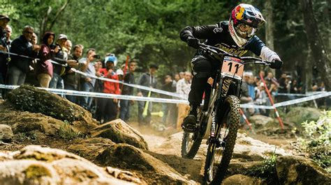 Downhill MTB Racing Highlights from Lourdes | UCI Mountain ...