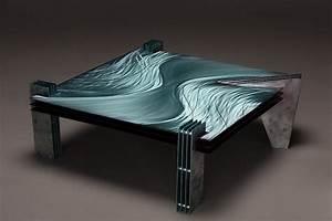 Table Basse Moderne : table basse moderne centaure ~ Melissatoandfro.com Idées de Décoration