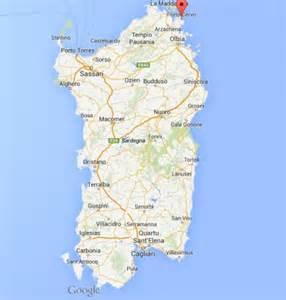 Porto Cervo Sardinia Italy Map