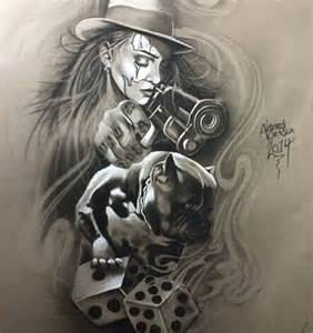Chicano Tattoo Art Drawings