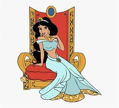 Sitting Princess Throne Jasmine Clipart Clipartkey