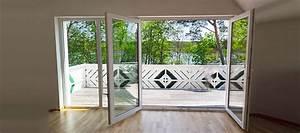 porte fenetre 4 vantaux dont 2 fixes With porte fenetre balcon