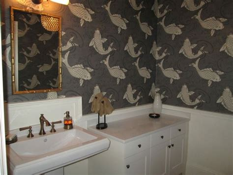 corner kitchen sink pictures months and months later my koi wallpaper powder room 5852