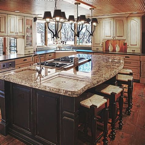 kitchen island with sink and stove top 1000 ideas about island stove on stove in 9810