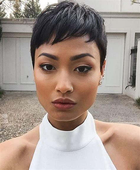 Pixie Black Hairstyles by 20 Sassy And Black Pixie Cuts