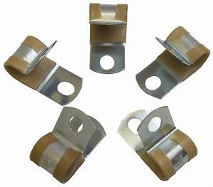 Pack Of 5 Clamps Tan Rubber New 12mm Id  Umpco S781