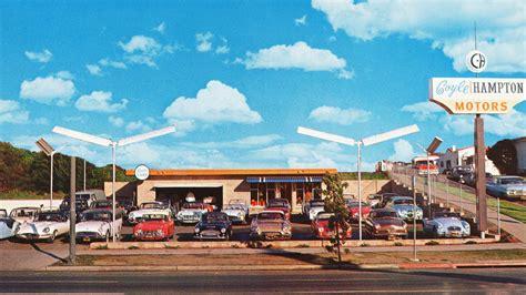 vintage dealership  inspire test drive daydreams