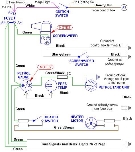 mga fused ignition circuit diagram a