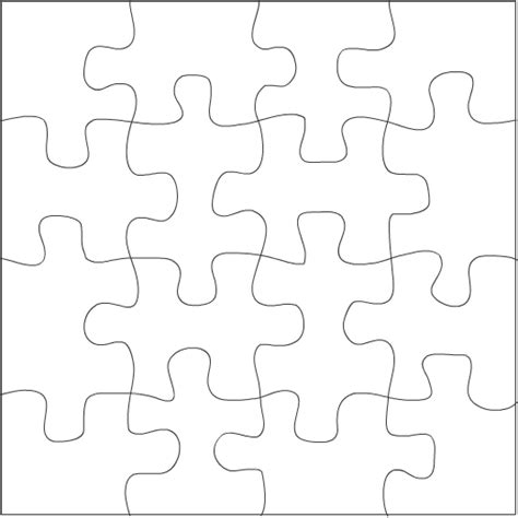 4 puzzle template best photos of 24 puzzle template blank jigsaw puzzle pieces template 24 jigsaw