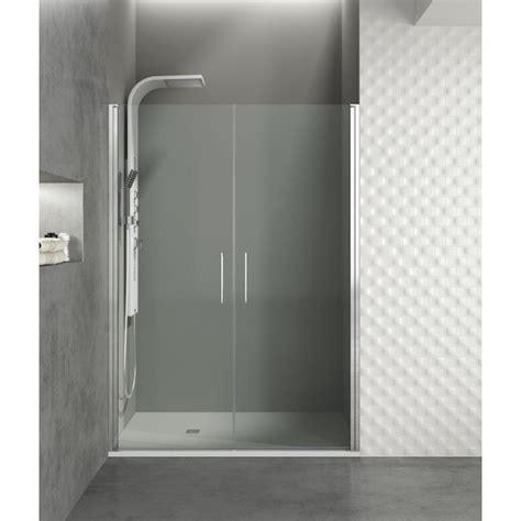 paroi de douche portes battantes helia  robinet