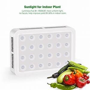 Led Grow Erfahrung : led pflanzenlampe toplanet reflektor 450w led grow lampe uv ir vollspektrum mit veg bloom ~ Watch28wear.com Haus und Dekorationen