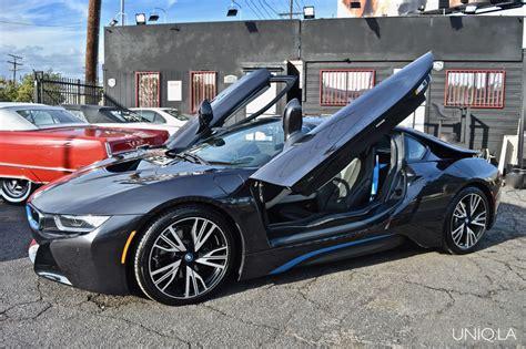 Bmw I8 Black And Blue by Bmw I8 Black Blue Cars Uniq Los Angeles