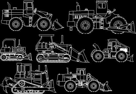 retro excavator dwg block  autocad designs cad