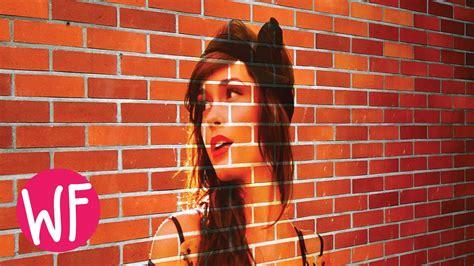 photoshop tutorial transform  photo   brick wall