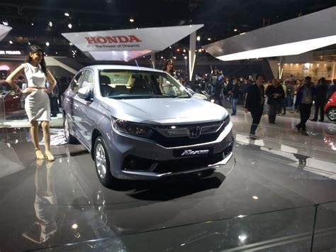 New Honda Amaze Revealed