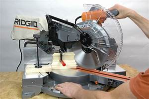 Power Tool Safety Tips For Miter Saws