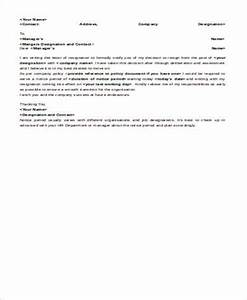 Resignation Letter Format In Word File Free 7 Mail Letter Format Samples In Ms Word Pdf