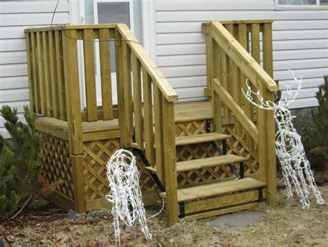 Wooden Deck Step Plans