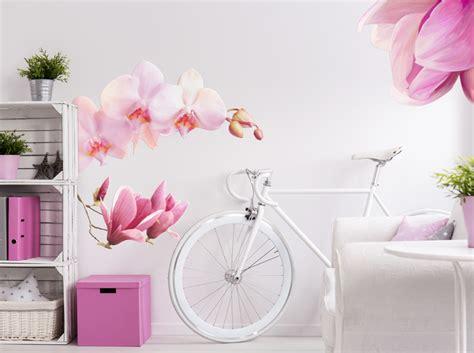 fiori adesivi per pareti fiori adesivi per pareti sticker murale floral