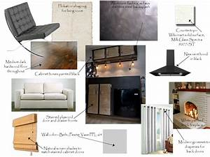 Interior design process and professional interior for Interior designer design board