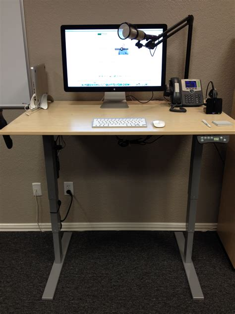 stand up desk my newest stand up desk gemba academy