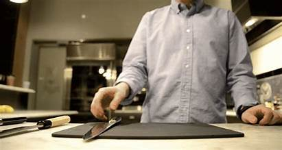 Knife Chinese Skills Cook Gifs Grip While