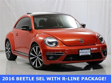pre owned  volkswagen beetle    hatchback