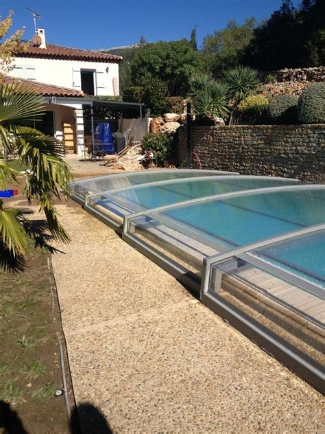 abri piscine sans rail abri piscine t 233 lescopique sans rail visio 18 aquajulien