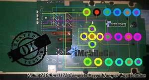Nokia 1134 Keypad Diagram