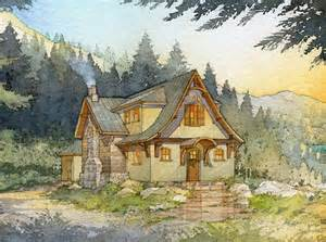 Storybook Style Cottage Home Plans