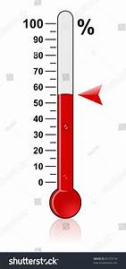 Thermometer Goal Stock Illustration 81279139 - Shutterstock